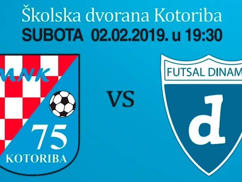 VIDEO / MNK Klub 75 i MNK Futsal Dinamo